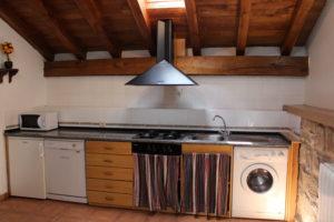 casa rural con dos cocinas