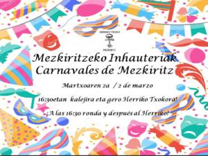 Carnavales en Mezkiritz